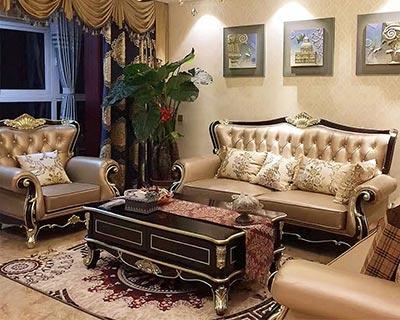 欧式酒店商务沙发_型号HT002