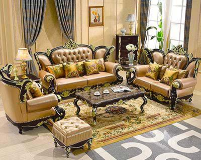 酒店欧式沙发_型号HT003