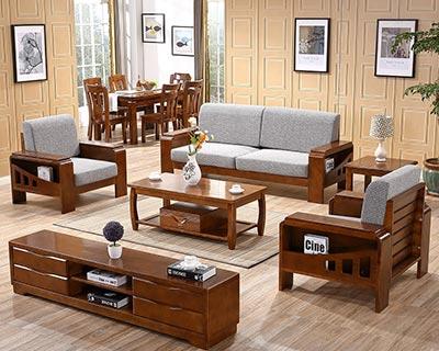 新中式布艺沙发_型号CB006
