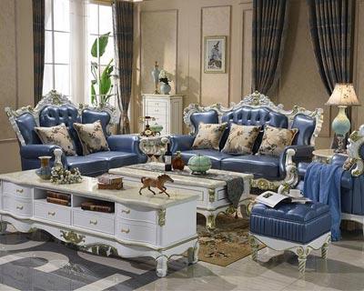 欧式别墅沙发_型号CB007