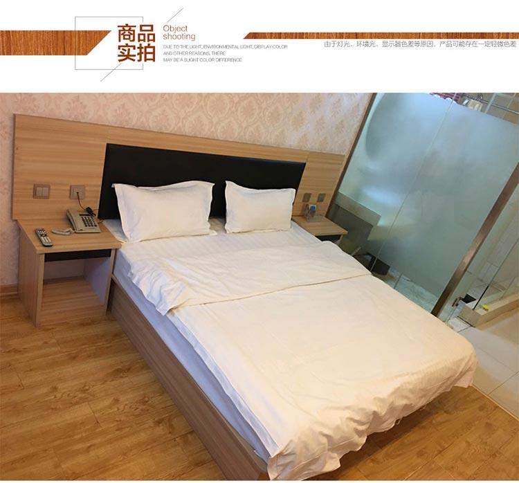 梦达酒店双人床装修效果图