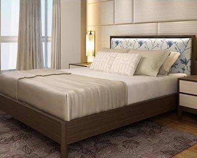 新中式酒店床_型号HT006