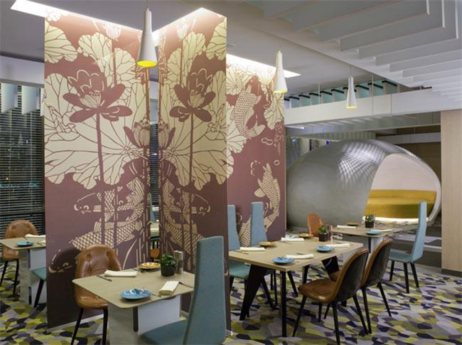 上海英迪格酒店公共区家具装修效果图