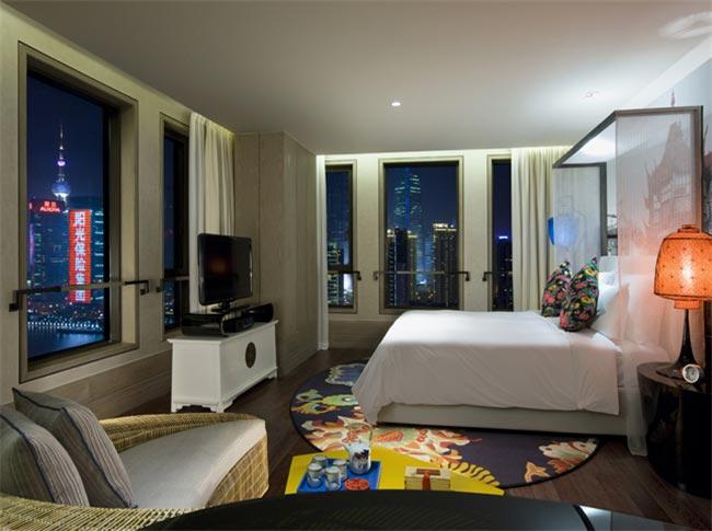 上海英迪格酒店客房家具装修效果图