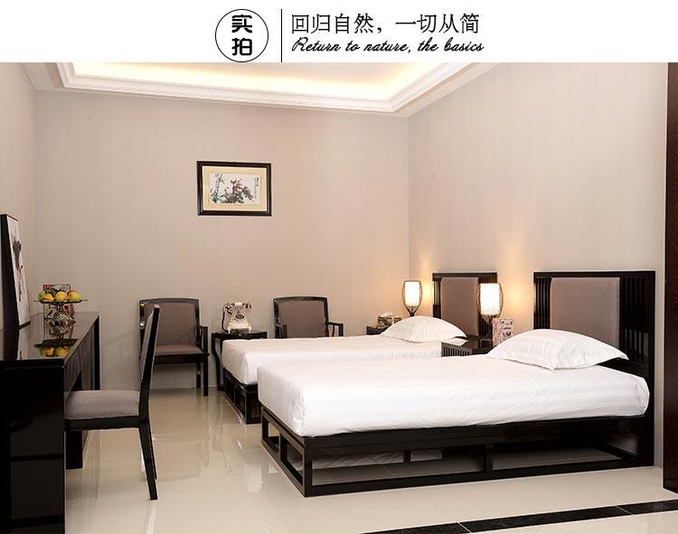 梦达酒店客房全套家具装修效果图