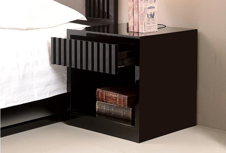梦达酒店客房全套家具配套床头柜制作工艺特写