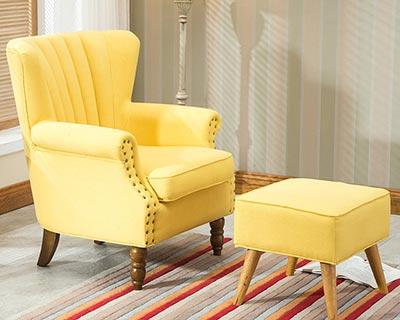 宾馆单人沙发椅_型号HT026