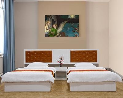 宾馆成套家具_型号HT038