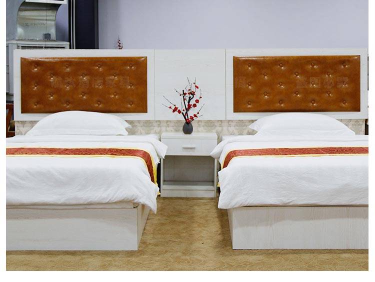 梦达宾馆成套家具实拍图片