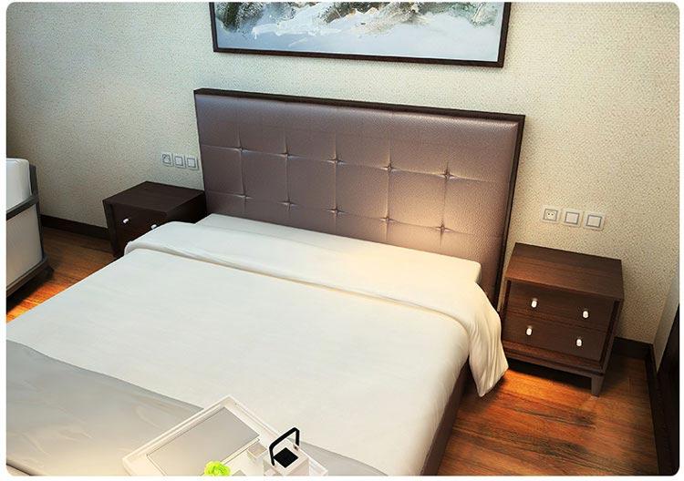 梦达酒店套房家具之客房床图片