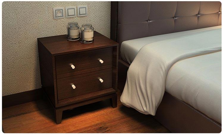 梦达酒店套房家具之床头柜图片