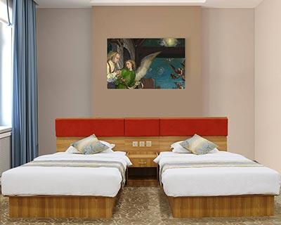 宾馆专用床_型号HT040