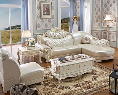 别墅真皮沙发_型号CB014