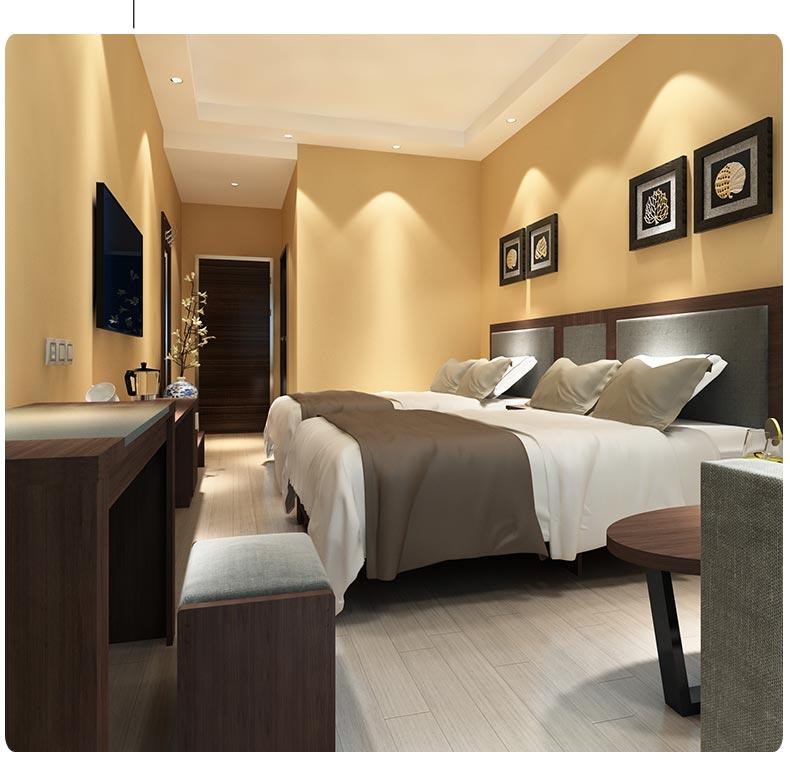 梦达酒店房间家具装修效果图