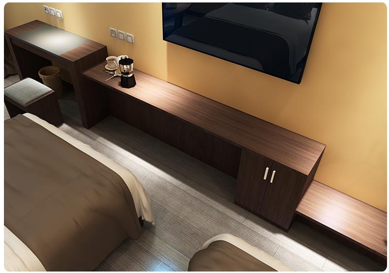 梦达酒店房间家具系列电视柜图片