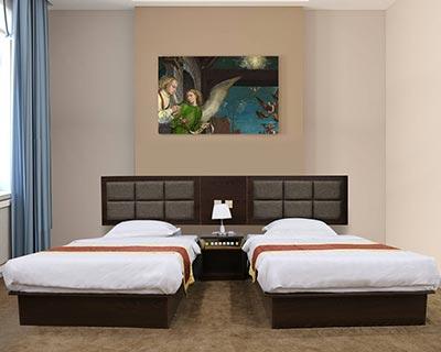 宾馆用床_型号HT041