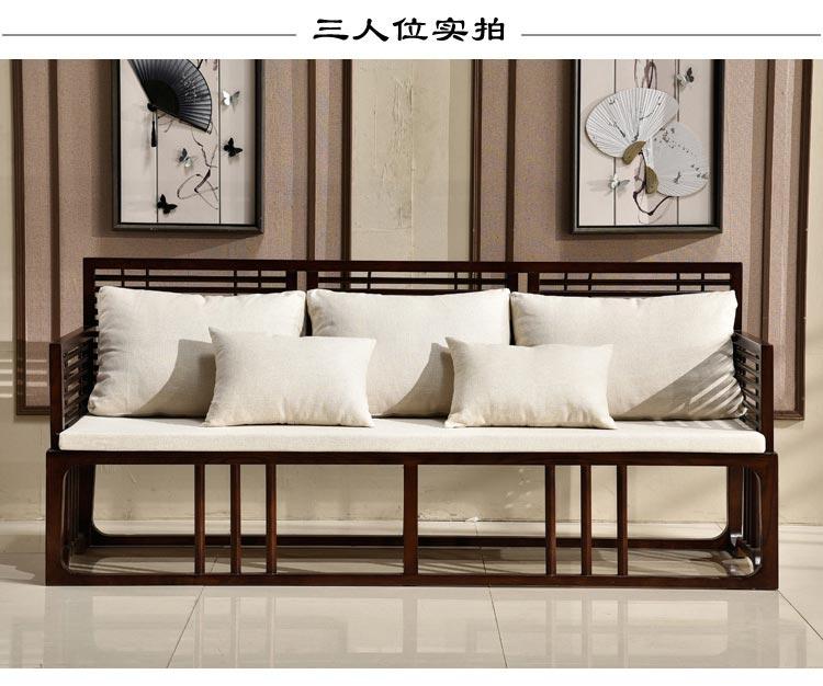 梦达酒店前台沙发(三人款)图片