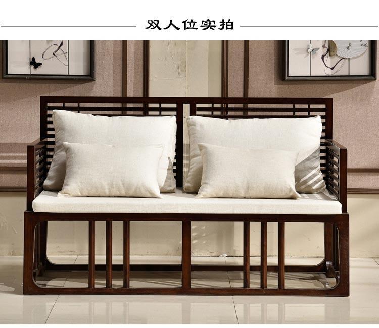 梦达酒店前台沙发(双人款)图片