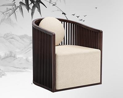 中式会所沙发_型号CB013