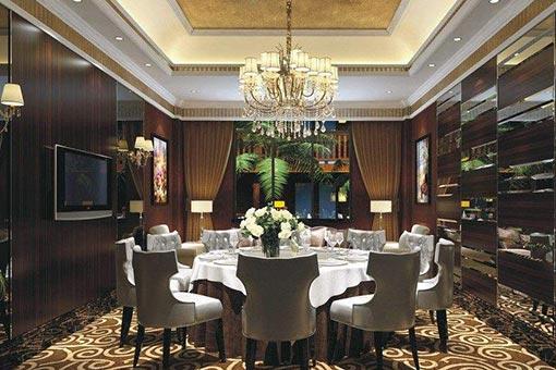 酒店餐厅家具图片