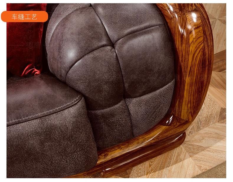梦达五星级酒店沙发车缝工艺展示