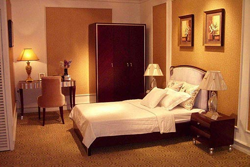 实木酒店家具图片