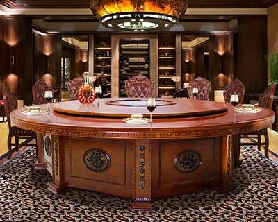 酒店大圆餐桌_型号HT061