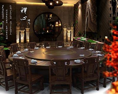酒店用餐桌椅_型号HT062