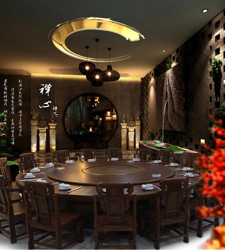 梦达酒店用餐桌椅装修效果图