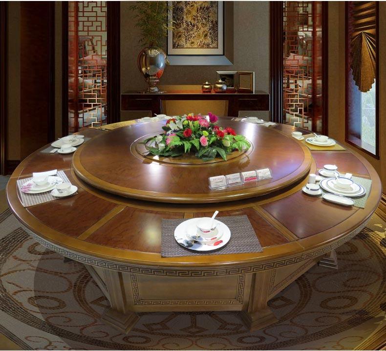 梦达酒店用餐桌装修效果图