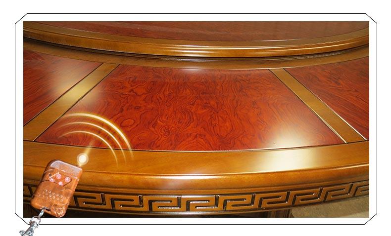 梦达酒店用餐桌桌面展示
