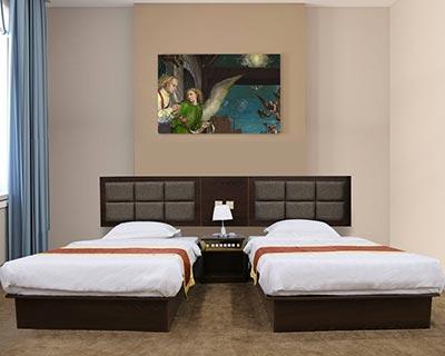 宾馆的床_型号HT056