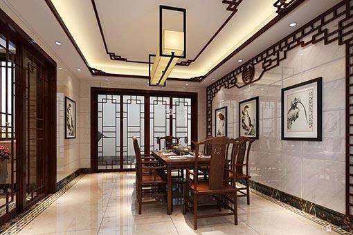 现代中式风酒店家具图片