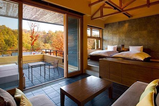 日式风格酒店家具图片