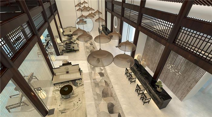 酒店大厅家具图片