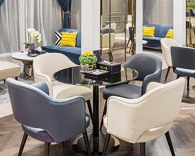 房地产售楼处桌椅_型号SC009