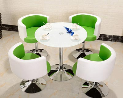 售楼中心桌椅_型号SC010
