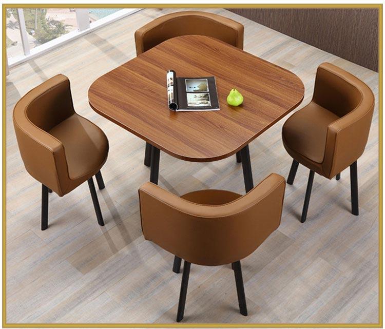 售房部洽谈桌椅组合装修效果图