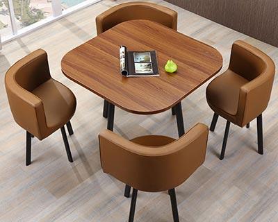 售房部洽谈桌椅组合_型号SC011