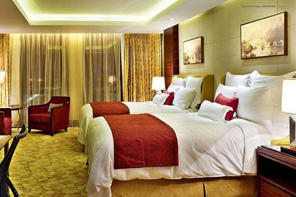 酒店床效果图