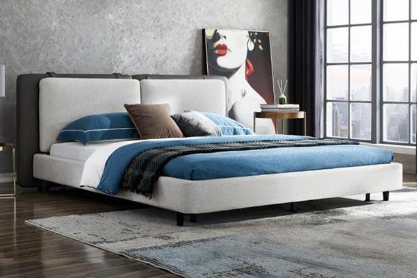 意式布艺酒店床