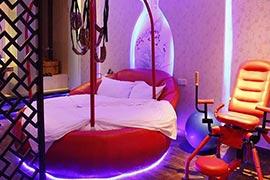 主题酒店用水床