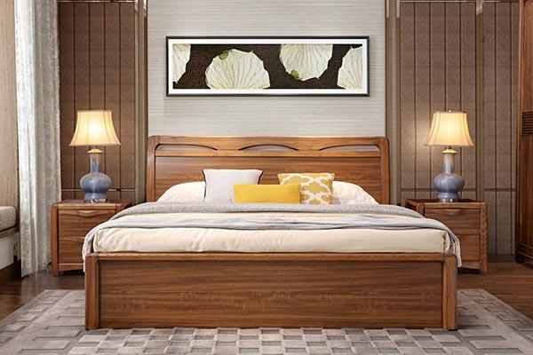 酒店式公寓储物床