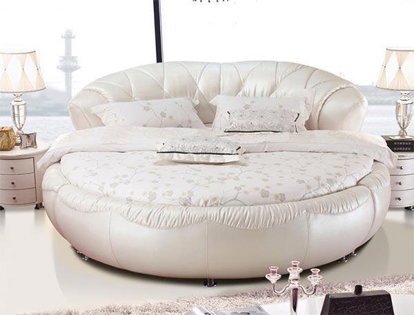 酒店圆床图片