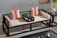 酒店大厅新中式沙发
