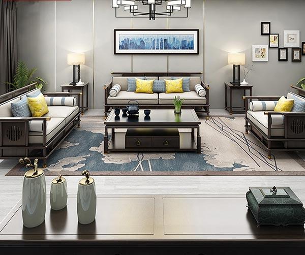 酒店客厅沙发图片