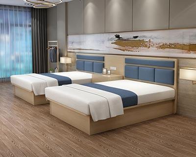 酒店客房床_型号HT063