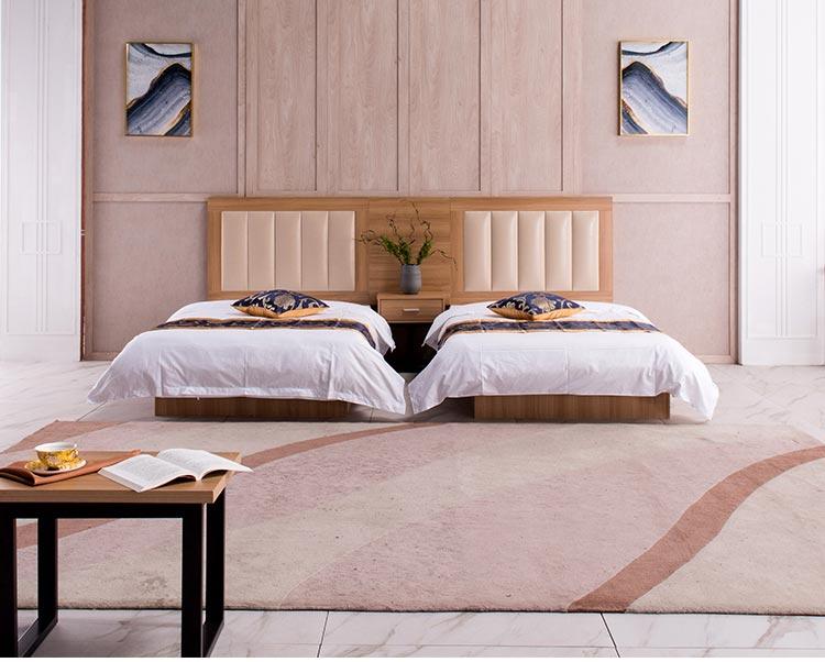 酒店配套床效果图