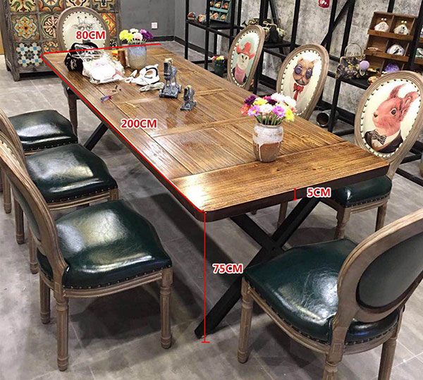 酒店桌椅尺寸示意图
