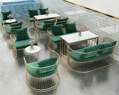 美容院沙发茶几_CB022